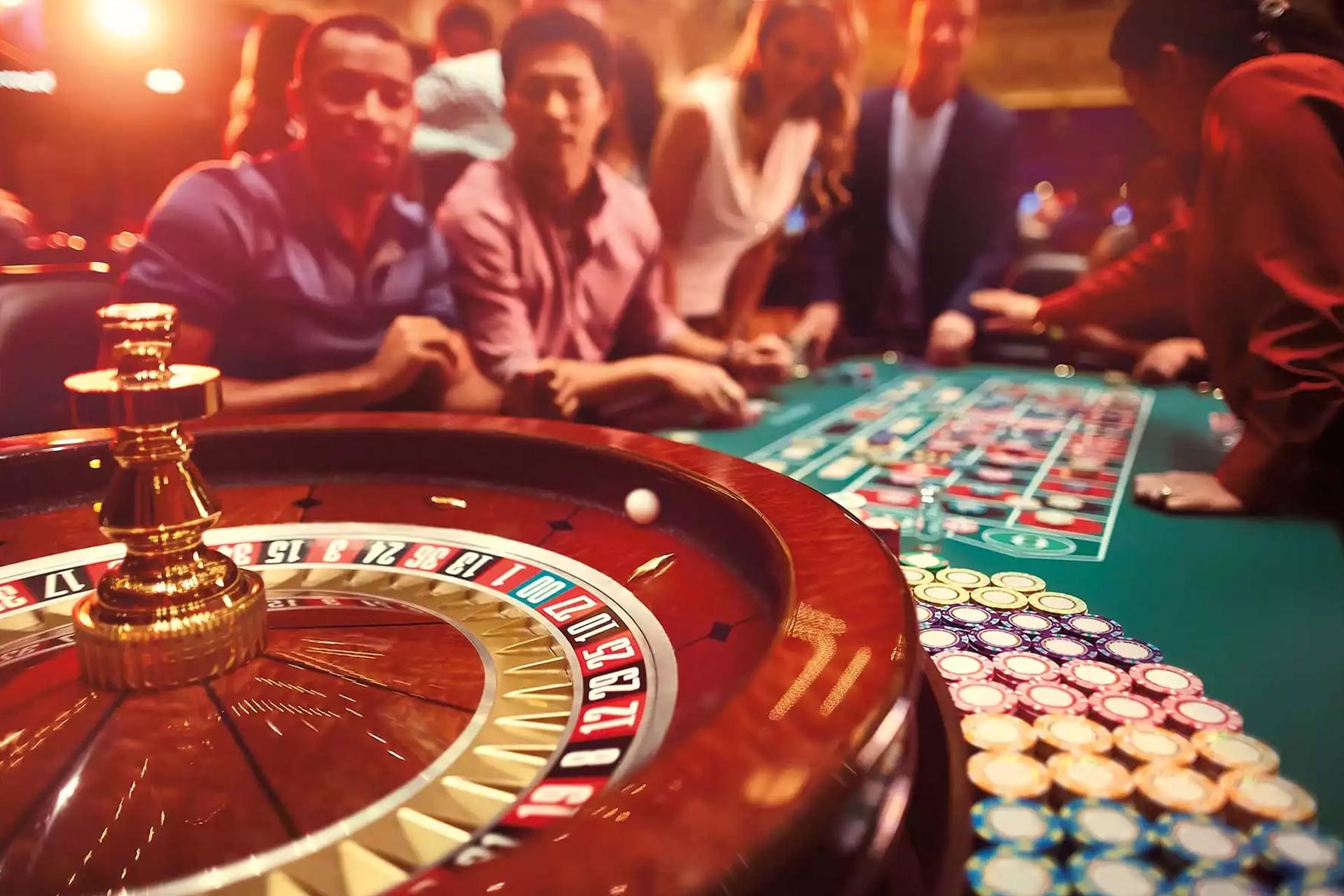カジノの食 101